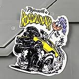 ロードランナー ステッカー ルーニー・テューンズ プリムス Plymouth_SC-MS077-FEE - 518 円