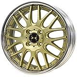 【ホンダ N BOX+(JF系 ターボ車)2012~】 ホイール:WEDS マーベリック 709M_サムライゴールドⅡ 5.5-16 4/100 タイヤ:TOYO トランパス LUK 165/50R16 (16インチ アルミホイールセット)