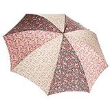 (ムーンバット)MOONBAT um-feel 婦人長傘 LIBERTY ART FABRICS 生地使用 リバティ3柄MIX タッセル付き 21-426-36370-00