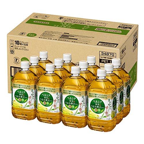 ヘルシア緑茶 うまみ贅沢仕立て 1L ×12本