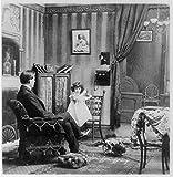Photo :図を人気曲、中央、Give Me Heaven ' Hello '、子、電話、1901年