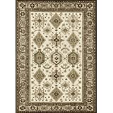 RUGGABLE Washable Indoor/Outdoor Stain Resistant Area Rug 2pc Set (Cover and Pad) Noor Taupe (152 x 213cm)