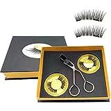 CTFIVING Magnetic Eyelashes Applicator Clip No Glue Curler Applicator Magnetic Lashes Kit Women's Fashion Makeup Tool