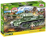 Cobi Small Army ミリタリーブロック WWII 第二次世界大戦 ソビエト軍 T-34/85 中戦車 T-34/85 m 1944 (New Version) #2476 【COBI日本正規総代理店】