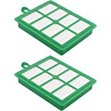 ApplianPar 2 Pack Hepa Filter Compatible with Electrolux HF12 H12 Vacuums Cleaner EL012B EL4050 EL4100 EL4101A El4335A EL6986