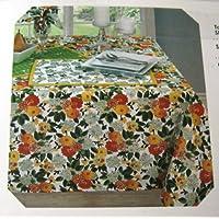 Vera Neumannセットの4つの布ナプキンスプリングブーケ
