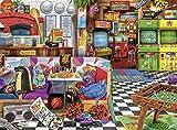 バッファローゲーム - Aimee Stewart - ピクセル&ピザ - 1000ピースジグソーパズル