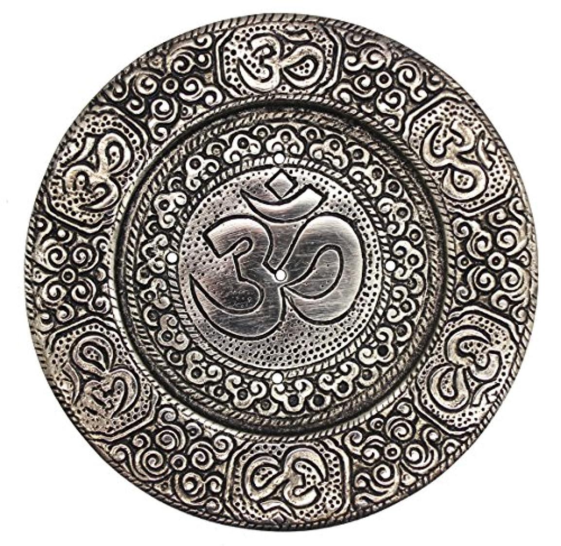 債権者立証する気付くGovinda – Tibetan Incense Burner – OM with脚 – 4.5
