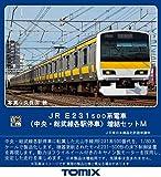 TOMIX HOゲージ E231-500系 中央・総武線各駅停車 増結セットM 3両 HO-9062 鉄道模型 電車
