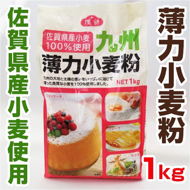 不名誉まとめる優れた佐賀県産 小麦100%使用 九州 薄力小麦粉 1袋 【 野菜セット と同梱できます 】【 九州 佐賀 熊本 粉 】