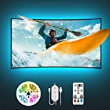 TV LED Backlights, Govee 9.8ft LED Strip Lights with Remote for 46-60 inch TV, 32 Colors 7 Scene Modes Accent Strip Lighting