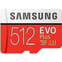 Samsung EVO Plus マイクロSDカード 512GB microSDXC UHS-I U3 100MB/s…