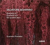 シャリーノ:弦楽四重奏曲第7番, 第8番/6つの短い四重奏曲