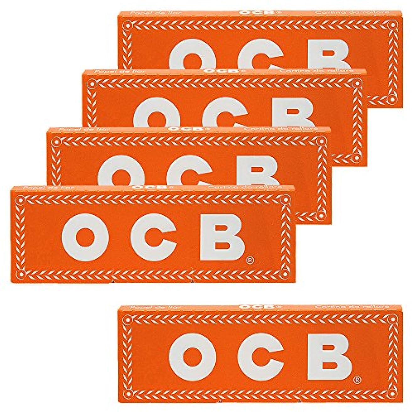 森林乞食引退した柘製作所(tsuge) OCB オレンジシングル [フリーバーニング ? 50枚入り] #78920 ×5パック