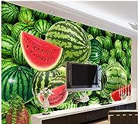 LJJLM 壁画壁紙リビングルームスイカ写真用壁ホームデコレーション-350X230CM