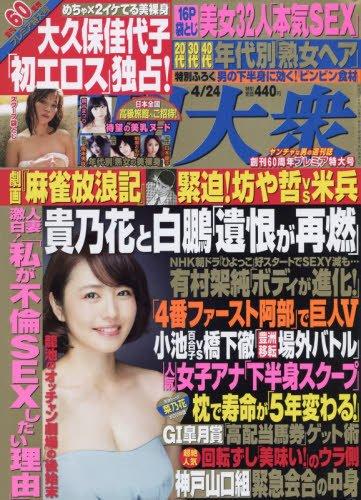週刊大衆 2017年 4/24 号 [雑誌]