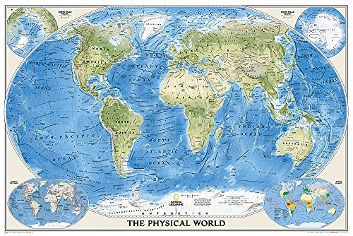 Download World Physical (National Geographic Reference Map) 0792250001