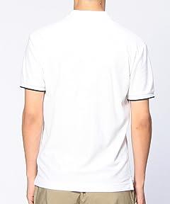 Pile Polo Shirt 1117-133-2034: White