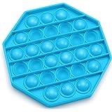Push Pop Bubble Fidget Sensory Toy, Fidget Toys for Kids Adults, Bubble Popper Fidget Toy Stress Anxiety Relief Toys for ADHD