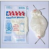 アメリカンマントル MC-900 2枚入り ワンタッチクリップタイプ コールマンノーススターランタンに! アメリカで売れている白く明るい丈夫なマントルです。