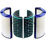 空気清浄機交換用 TP04 DP04 HP04 グラスHEPAフィルター 活性炭フィルター