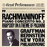 Rachmaninov: Piano Concerto No. 2 / Rhapsody On A Theme Of Paganini (1990-10-25)
