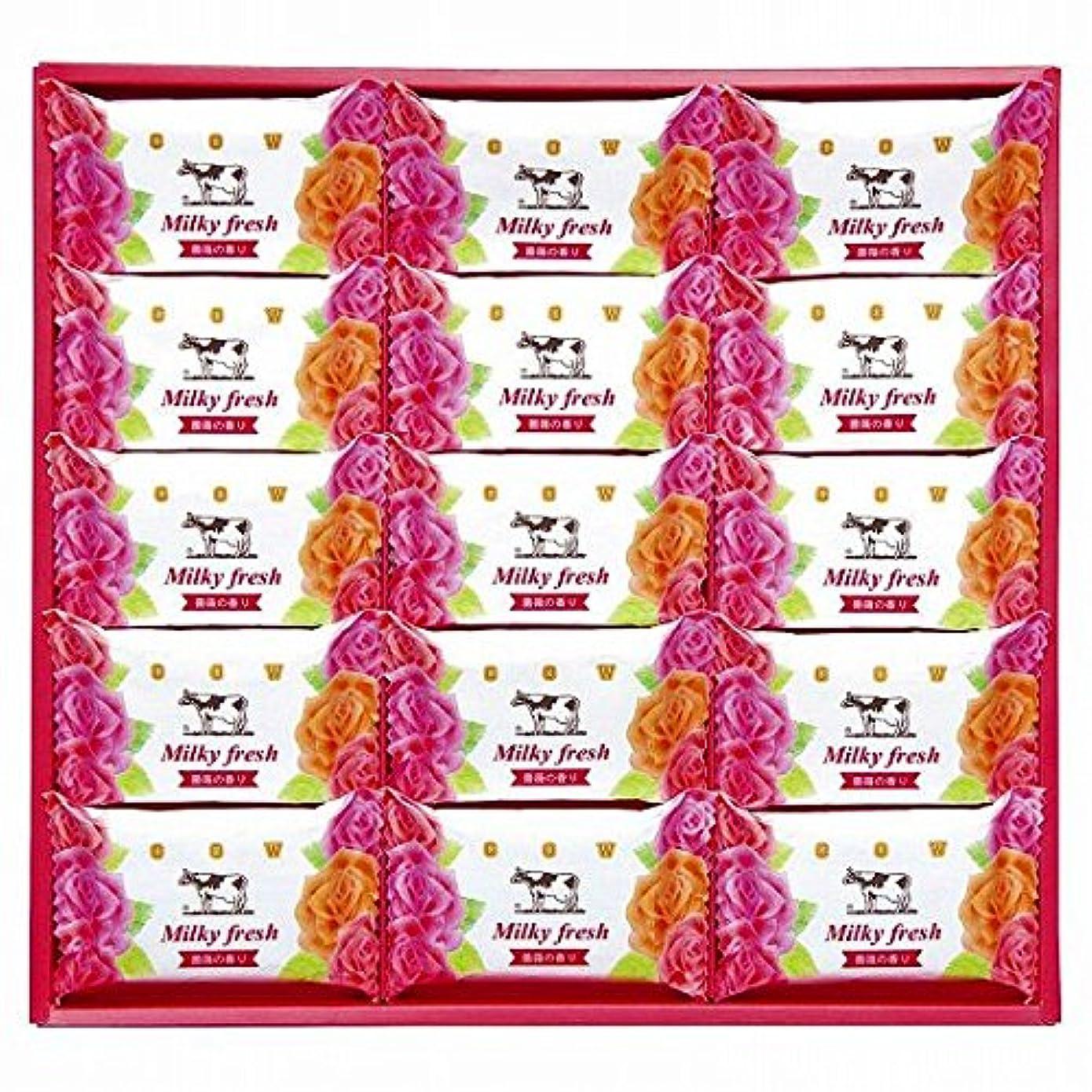 nobrand 牛乳石鹸 ミルキィフレッシュセット (MF-15)