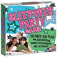 Sleepover Slumber Party Game- Young Tween Teens Girlfriend Fun Activities [並行輸入品]