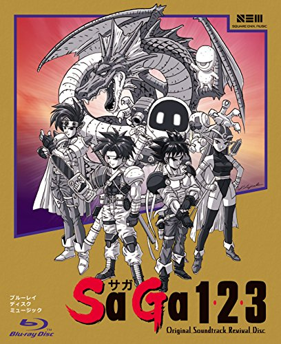 SaGa 1,2,3 Original Soundtrack Revival Disc(映像付サントラ/Blu-ray Disc Music)