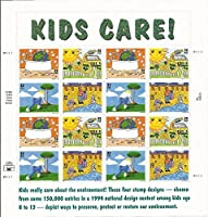 Kids Care - Earth Day Full Sheet of Sixteen 32 Cent Stamps Scott 2951-54 [並行輸入品]