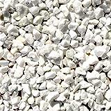 天然石 砕石砂利 1-2cm 30kg スノーホワイト (ガーデニングに最適 白色砂利)