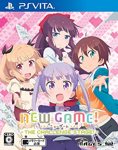 NEW GAME! -THE CHALLENGE STAGE!-  - PS Vita
