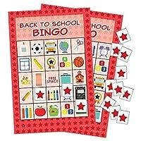 Back to School Bingo - 24 Players [並行輸入品]