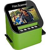 Film Scanner with 22MP High Resolution Slide Scanner Converts 35mm, 110 & 126 and Super 8 Films, Slides and Negatives to JPEG