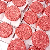 14%OFF〓業務用〓ビーフパティ1箱 5kg 50枚入-学園祭・大人数BBQなどにハンバーガー! 【販売元:The Meat Guy(ザ・ミートガイ)】
