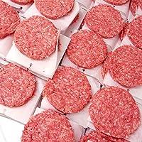 ミートガイ 手作り グラスフェッドビーフパティ (5kgケース) 無添加 100%ビーフ 業務用 イベント,学園祭に Original Classic Grass-Fed Beef Burger Patties