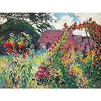 Pinchon Garden Of Papaver Flowers Bright Painting Extra Large Art Print Wall Mural Poster Premium XL 庭園フラワーズ明るいペインティング大アート壁ポスター