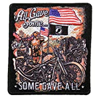 """ALL GAVE SOME, SOME GAVE ALL - Iron On PATCH, Licensed Original Artwork, 4"""" x 4"""""""