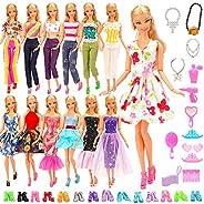 Barwa バービー人形用 服 1/6ドール用 人形用 アクセサリー ジェニー 服  手作り 洋服 人形 きせかえ