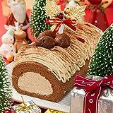 「新杵堂(SHINKINEDO)」Buche de Noel(ブッシュ・ド・ノエル/ブッシュドノエル)【お届け期間:12月21日〜25日】≪クリスマスケーキ予約・2018≫