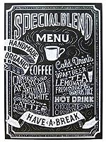 ビンテージカフェ【サインボード カフェ(CAFE/KS-SIARLCA)メッセージ看板 木製看板】案内看板 アメリカ看板 看板 コーヒー アメリカ雑貨 カフェ