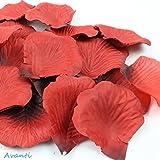 Avanti 赤い花びら 1000枚 セット フラワーシャワー レッド 結婚式 パーティー 誕生日会 演出作りに最適