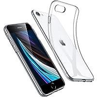 ESR iPhone SE ケース 第2世代 iPhone 8 ケース iPhone 7 ケース 2020 新型 クリアケース 軽量 黄変防止TPUカバー 指紋防止 柔軟性抜群 Qi急速充電対応 シリコンカバー クリア