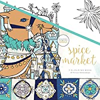 KAISERCRAFT(カイザークラフト) カイザーカラー(塗り絵) Spice Market CL518
