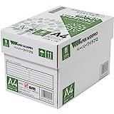 コピー用紙 A4 ペーパーワイドプロ 日本色 紙厚0.09mm 2500枚(500×5) AIK001