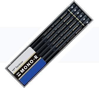 トンボ鉛筆 鉛筆 MONO モノR B 1ダース プラケース MONO-RB