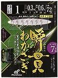 ハヤブサ(Hayabusa) 瞬貫わかさぎ ピンクフラッシャー 7本 オモリ付 C246 1-0.3