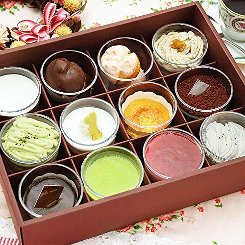 12種類のカップケーキ
