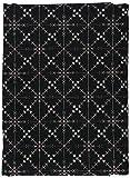 オリムパス製絲 匠シリーズ 11N-26 約110cm巾×1mカット 色番A (黒)