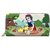 Loungefly Disney Snow White and the Seven Dwarfs - Multiscene Zip Wallet